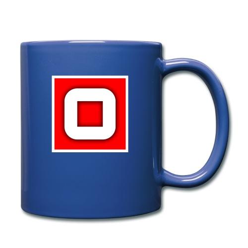 Vanlig Logo (tonåring) - Enfärgad mugg