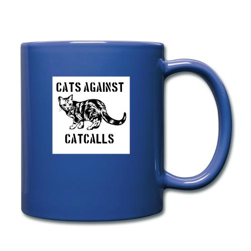 Cats against catcalls - Full Colour Mug