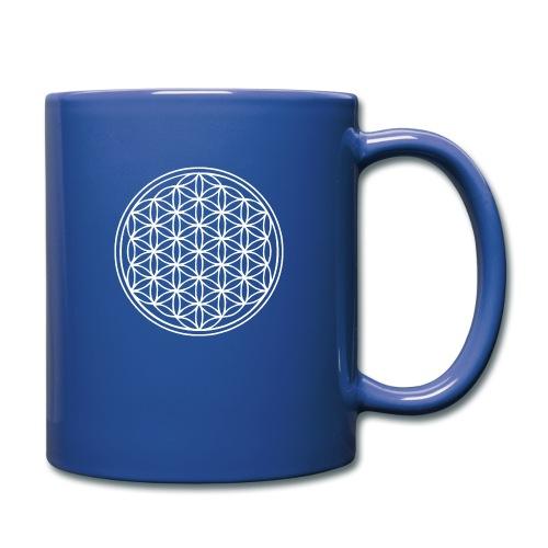 Fleur de vie Blanche - Mug uni