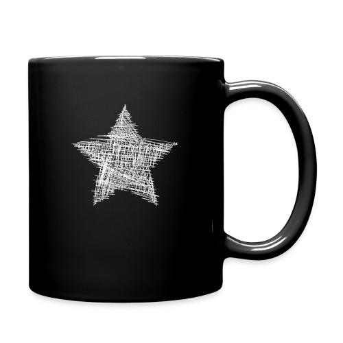 Estrella blanca - Taza de un color