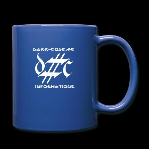 Dark-Code Gothic Logo - Mug uni