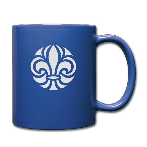 Scouterna-symbol_white - Enfärgad mugg