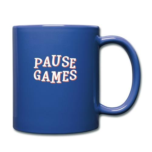 Pause Games Text - Full Colour Mug