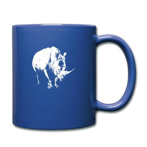 White Rhinoceros (highlights only) - Full Colour Mug