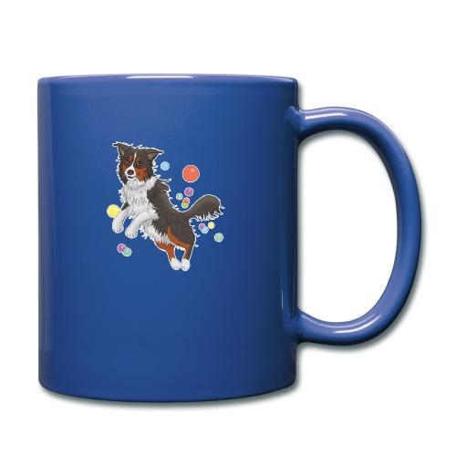 Australian Shepherd - Tasse einfarbig
