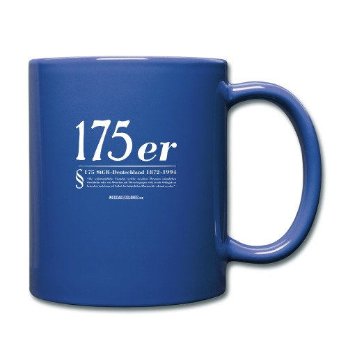 175 er. Protest. White. - Taza de un color