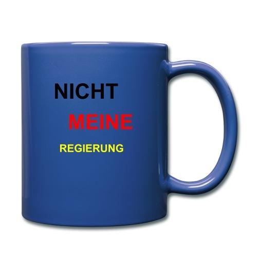 NICHT MEINE REGIERUNG - Tasse einfarbig