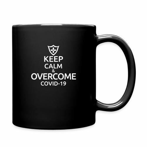 Keep calm and overcome - Kubek jednokolorowy