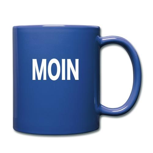 Moin - Tasse einfarbig