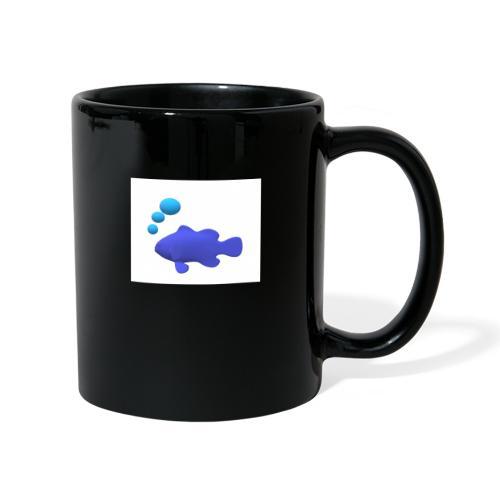 Silhouette Pesce - Tazza monocolore