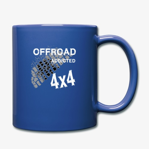Defender Land-Rover OFF Road White - Tasse einfarbig