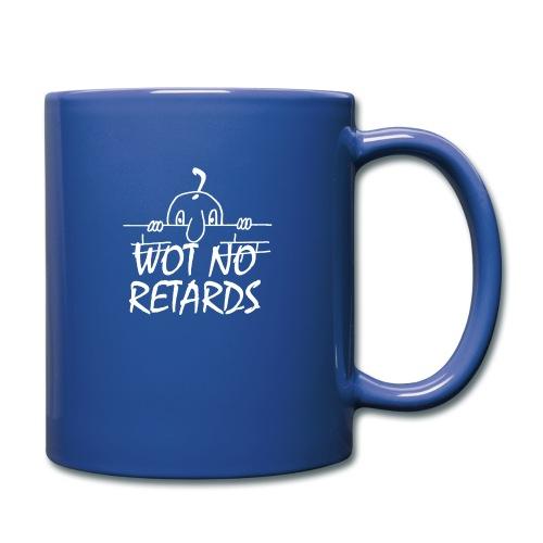 WOT NO RETARDS - Full Colour Mug