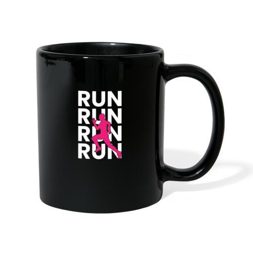 RUN - Tasse einfarbig