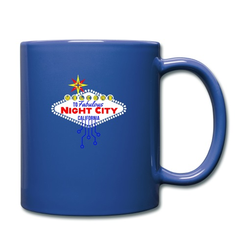 Welcome to fabulous Night City Cyber Punk 2077 - Tasse einfarbig