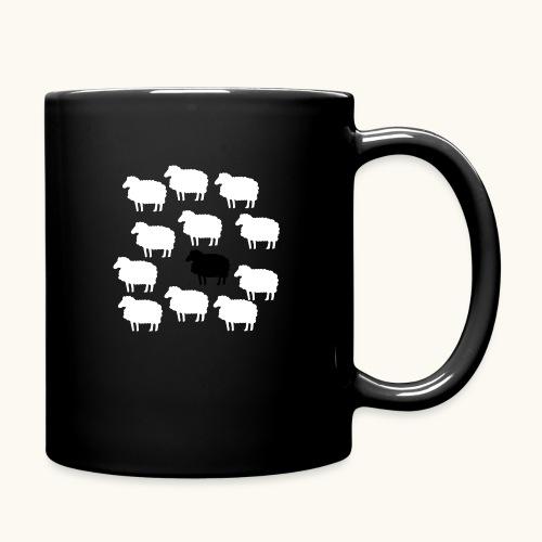 Lustige Schafherde Schwarzes Schaf Geschenkidee - Mug uni