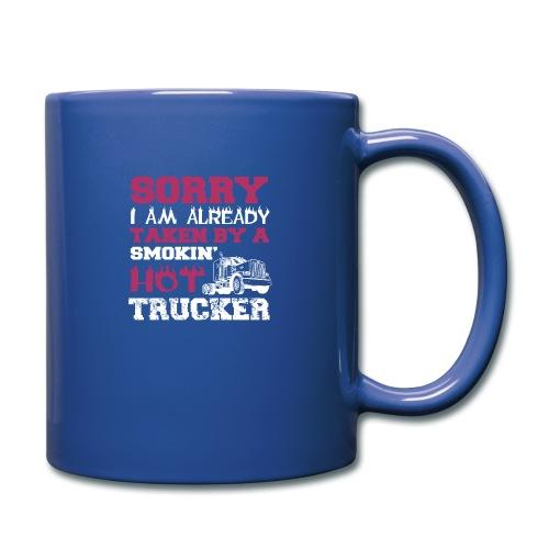 hot trucker - Mug uni