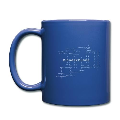 BiondekBühne Modern - Tasse einfarbig