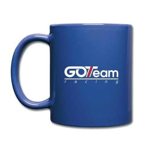 GOTeam Racing White - Enfärgad mugg
