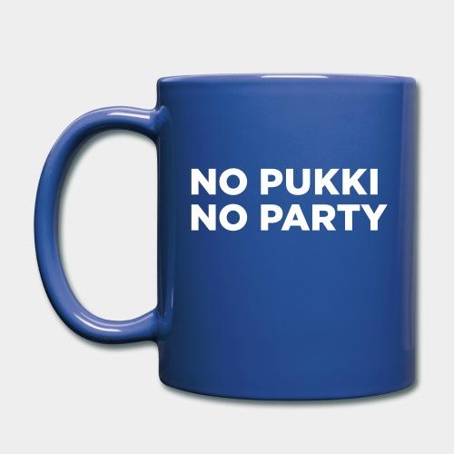 No Pukki, no party - Yksivärinen muki