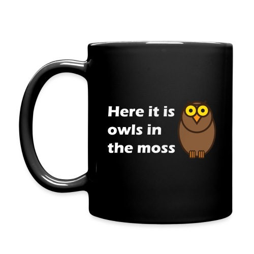 Here it is owls in the moss