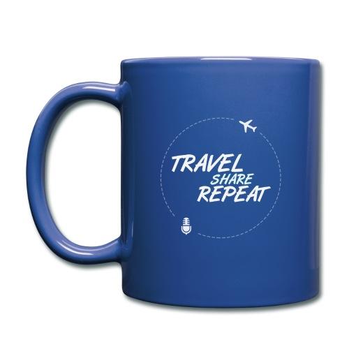 Travel Share Repeat Logo V1 - Mug uni