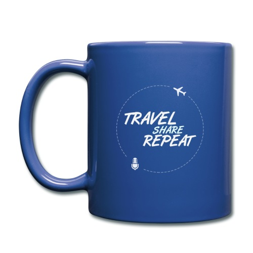 Travel Share Repeat Logo V1 - Mug uni