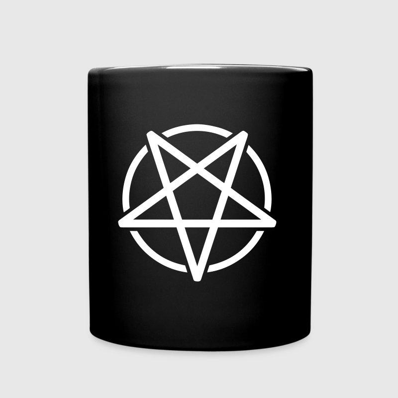 Pentagrama - Taza de un color