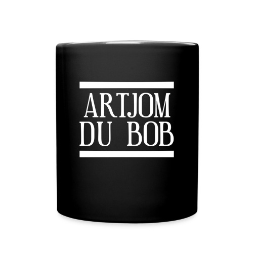 Artjom du BOB Logo - Tasse einfarbig