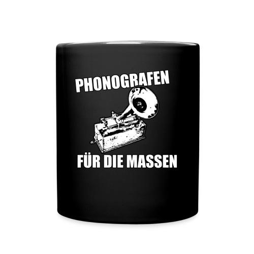 Phonografen Massen - Tasse einfarbig