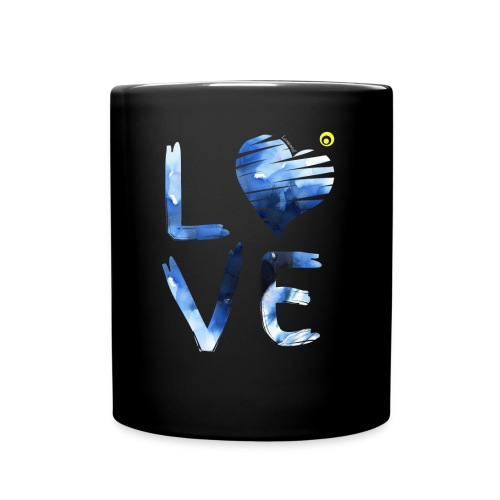 LOVE WATERCOLOR - Full Colour Mug