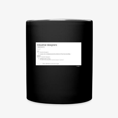Industrial Designers' must have - Full Colour Mug