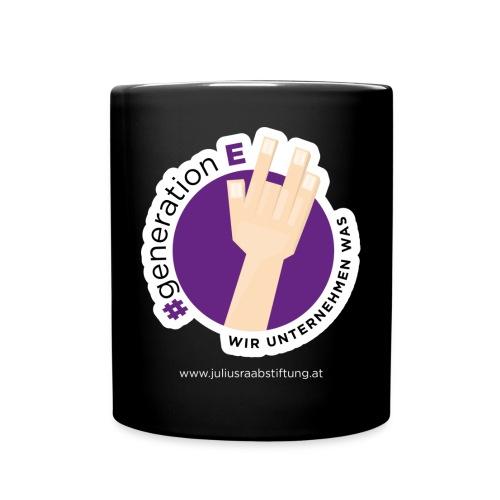 #generationE - wir unternehmen was - Tasse einfarbig