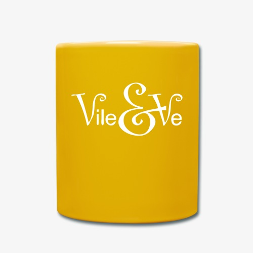 Vile & Ve Logo - Ensfarget kopp
