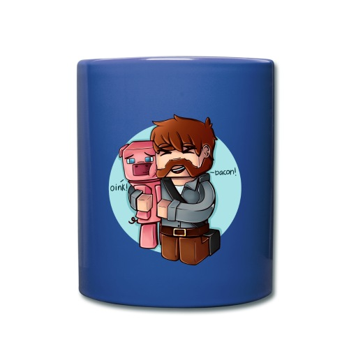 Bacon - Ensfarget kopp