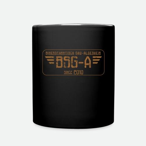 BSG A transparent png - Tasse einfarbig