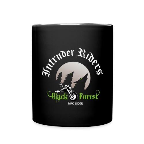 Black-Forest-Backside - Tasse einfarbig