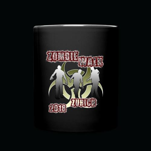 shirt zombie walk - Tasse einfarbig