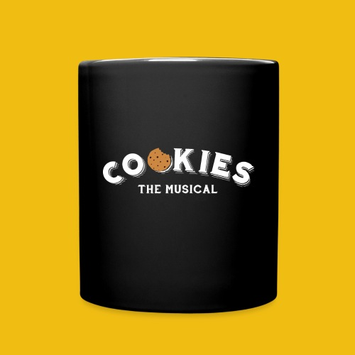Cookies - Logo White - Tazza monocolore