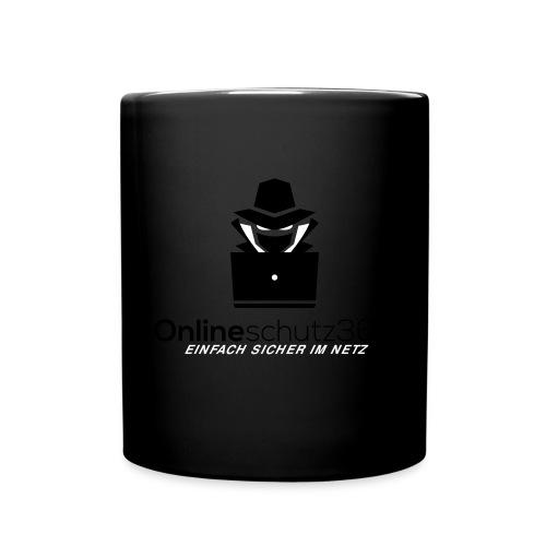 Online_schutz - Tasse einfarbig