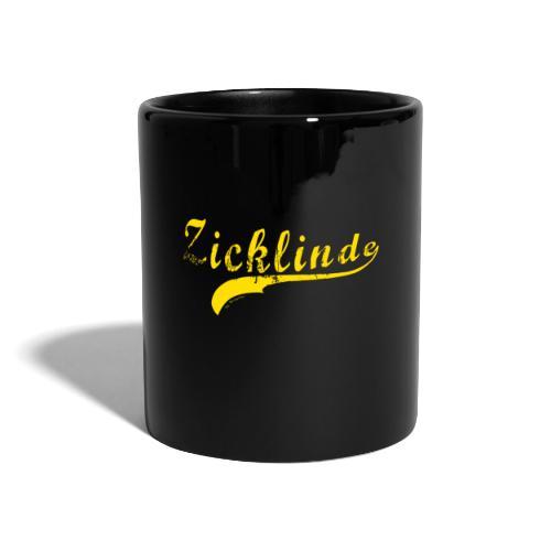 Zicklinde | Gelb - Tasse einfarbig