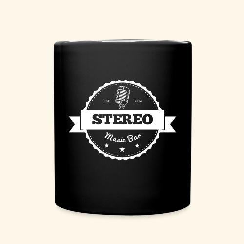 Stereo Retro Design - Tasse einfarbig
