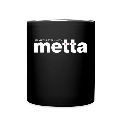 METTA_WHITE - Full Colour Mug