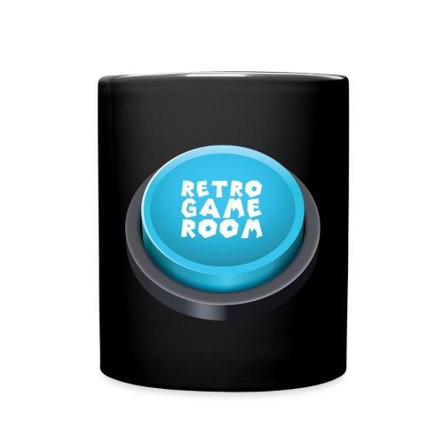 arcade button blue png - Full Colour Mug