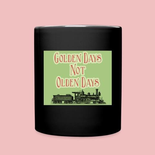 Golden Days - Full Colour Mug