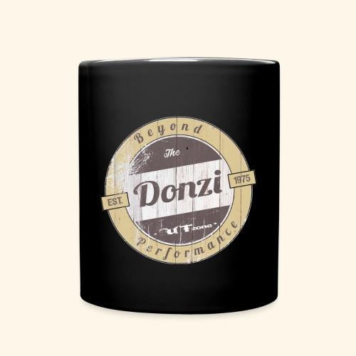 Donzi_Vintage_Round_ - Tasse einfarbig