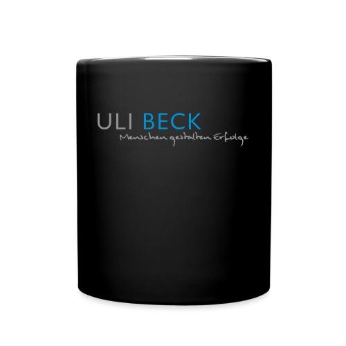 logo_ULI_BECK_Menschen - Tasse einfarbig