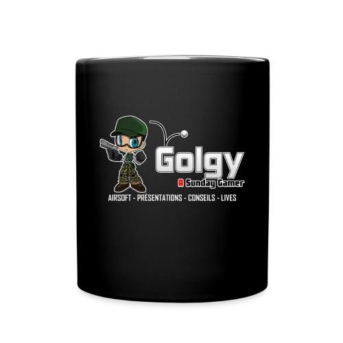 golgy logo 2018 HD V2 - Mug uni