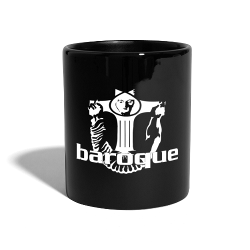 Baroque Records Logo Black - Tasse einfarbig