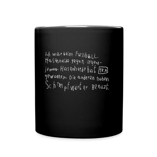 CFB Schimpfwörter (weiß) - Tasse einfarbig