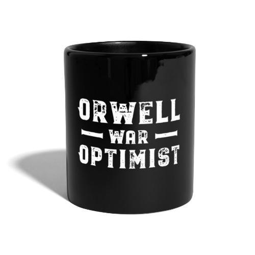 Orwell War Optimist - Tasse einfarbig
